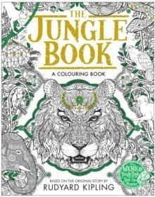 bokomslag The Jungle Book Colouring Book