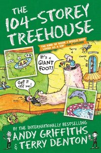 bokomslag The 104-Storey Treehouse