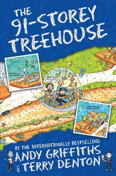 bokomslag The 91-Storey Treehouse