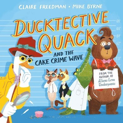 Ducktective Quack and the Cake Crime Wave 1