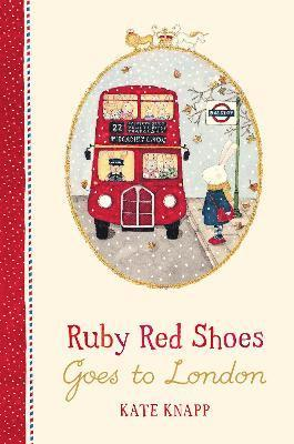 Ruby Red Shoes Goes To London 1