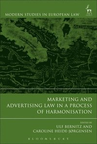 bokomslag Marketing and Advertising Law in a Process of Harmonisation