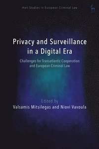bokomslag Surveillance and Privacy in the Digital Age