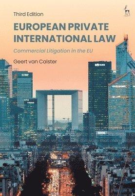 bokomslag European Private International Law: Commercial Litigation in the EU