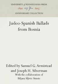 bokomslag Judeo-Spanish Ballads from Bosnia