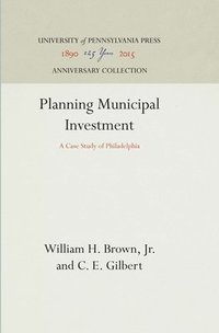 bokomslag Planning Municipal Investment