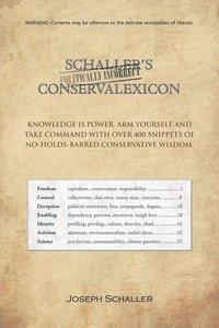 bokomslag Schaller's Politically Incorrect Conservalexicon