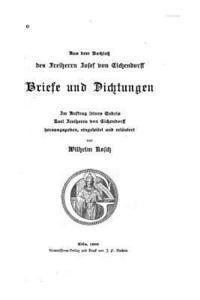bokomslag Briefe und Dichtungen