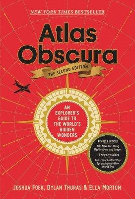 bokomslag Atlas Obscura: An Explorer's Guide to the World's Hidden Wonders
