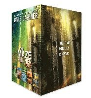 bokomslag The Maze Runner Series Complete Collection Boxed Set