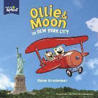 Ollie & moon in new york city 1