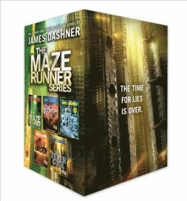 bokomslag The Maze Runner Series Complete Collection Boxed Set (5-Book)