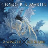 bokomslag Song of ice and fire 2020 calendar - illustrations by john howe