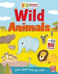 bokomslag Big Stickers for Tiny Hands: Wild Animals