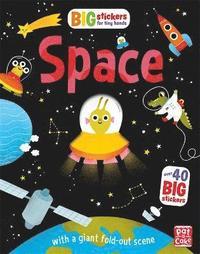 bokomslag Big Stickers for Tiny Hands: Space