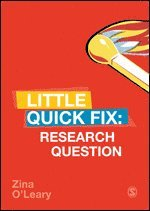 bokomslag Research Question: Little Quick Fix