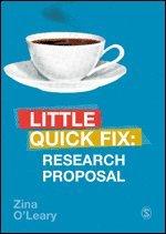 bokomslag Research Proposal: Little Quick Fix