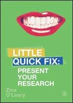 bokomslag Present Your Research: Little Quick Fix