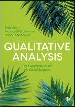 bokomslag Qualitative Analysis: Eight Approaches for the Social Sciences