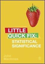 bokomslag Statistical Significance: Little Quick Fix