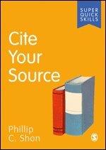bokomslag Cite Your Source