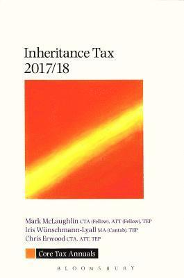 bokomslag Core tax annual: inheritance tax 2017/18