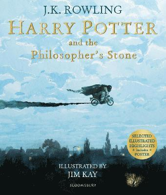 bokomslag Harry Potter and the Philosopher's Stone: Illustrated Edition