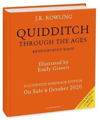 bokomslag Quidditch Through the Ages Illustrated Edition