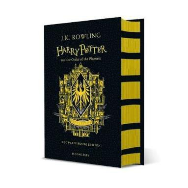bokomslag Harry Potter and the Order of the Phoenix - Hufflepuff Edition