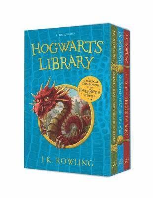 bokomslag The Hogwarts Library Box Set