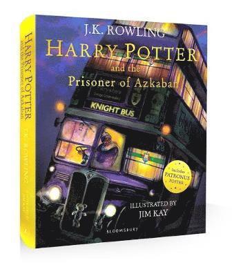 bokomslag Harry Potter and the Prisoner of Azkaban Illustrated
