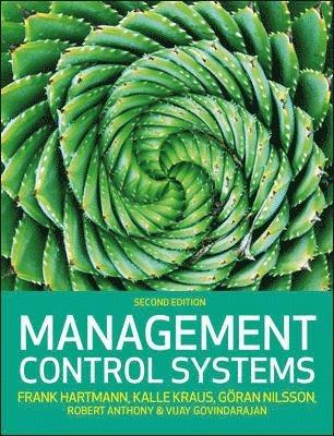 bokomslag Management Control Systems, 2e