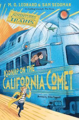 bokomslag Kidnap on the California Comet