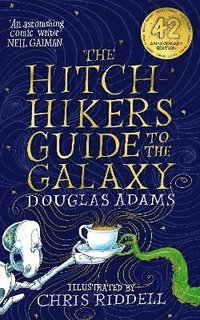 bokomslag Hitchikers Guide to the Galaxy Illustrated Edition
