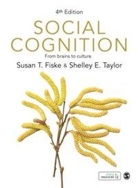 bokomslag Social Cognition