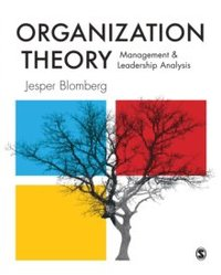 bokomslag Organization Theory: Management and Leadership Analysis