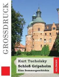 bokomslag Schloß Gripsholm (Großdruck): Eine Sommergeschichte