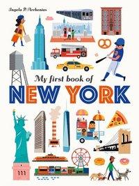 bokomslag My First Book of New York