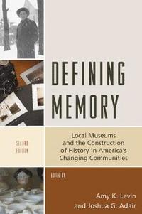 bokomslag Defining Memory