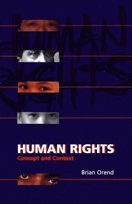 bokomslag Human Rights: Concept and Context