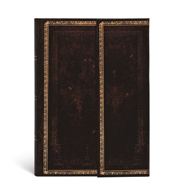 Anteckningsbok Paperblanks Mini linjerad - Black Moroccan