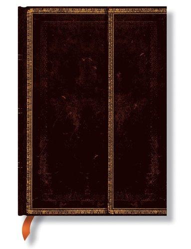 Anteckningsbok Paperblanks Ultra olinjerad - Black Moroccan