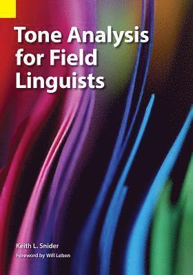 bokomslag Tone Analysis for Field Linguists