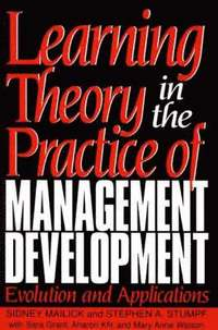 bokomslag Learning Theory in the Practice of Management Development