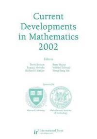 bokomslag Current Developments in Mathematics, 2002