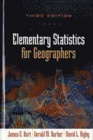 bokomslag Elementary statistics for geographers, third edition