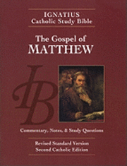 bokomslag Ignatius Catholic Study Bible: Matthew