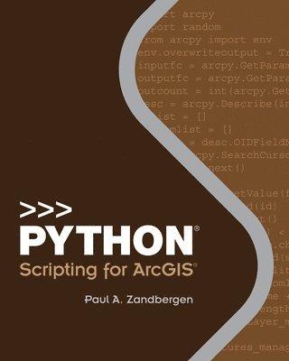 bokomslag Python Scripting for Arcgis