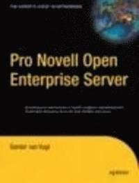 bokomslag Pro Novell Open Enterprise Server