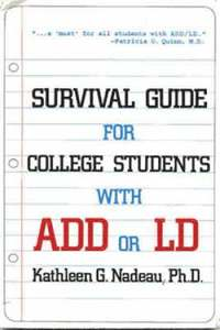 bokomslag Survival Guide for College Students with ADHD or LD